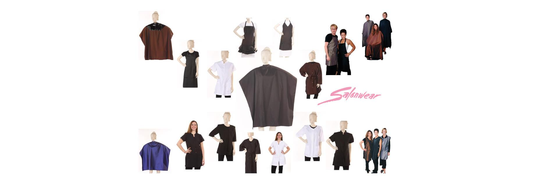salonwear, salon wear, salon smocks, salon capes, hair stylist smocks, stylist smocks, cosmetology smocks, stylist capes