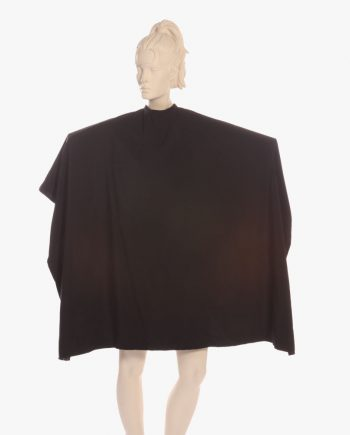 cosmetology capes, custom hair stylist capes, black color capes, salon capes wholesale