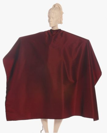 stylish super salon capes burgundy