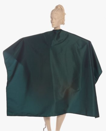 Wholesale Salon Capes Silkara Iridescent Fabric in Light greeen