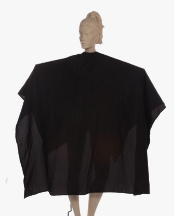 Professional color super capes in black