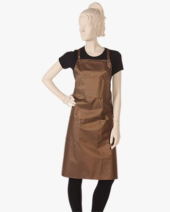shop apron dress at salon wear