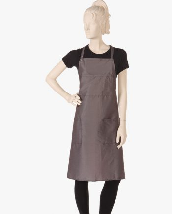 buy grey apron at salon wear