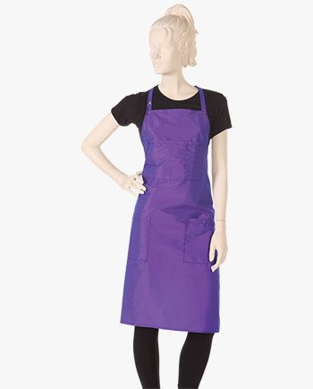 custom salon bib aprons, trendy hair stylist bib aprons