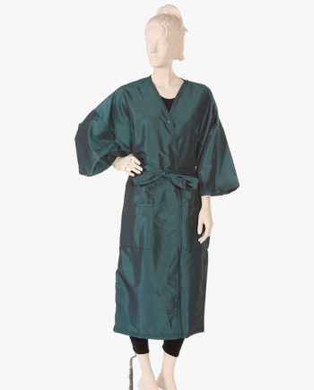 Clients Hairdressing Gowns in green, Hairdressing Gowns in brown for client