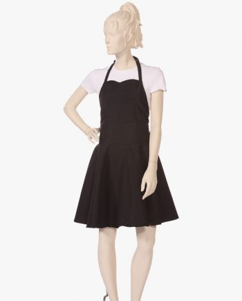 Sweetheart Apron Silkara Iridescent Fabric in Black, get your personalized apron for men