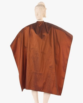 cosmetology capes, custom hair stylist capes, bronze color capes, salon capes wholesale