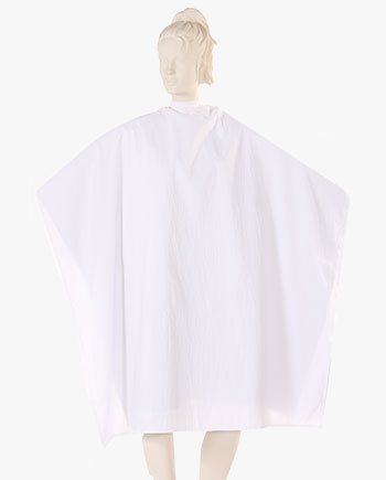 cutting capes wholesale, hair capes and aprons, white cutting cape, hairdresser cape