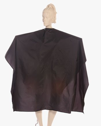 customized super capes waterproof nylon taffeta in black