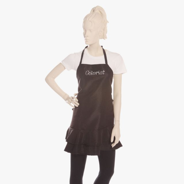 hair colorist aprons, hair stylist color aprons, hair color apron