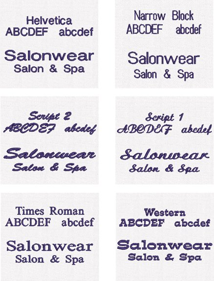 custom salon capes, personalized salon capes, custom styling capes
